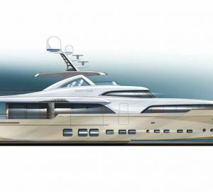 Update on construction of Mulder 34m motor yacht BN 100