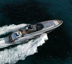 New Riva 88 Miami Yacht - World's First Power-Convertible Motor Yacht
