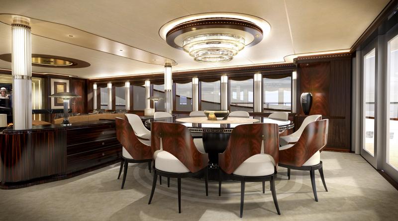 Z164 Yacht - Dining