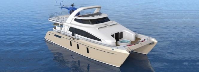 24m Jutson Exploration HeliCat Yacht
