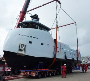 New 24m Lynx support yacht 'YXT ONE' designed by Diana Yacht Design