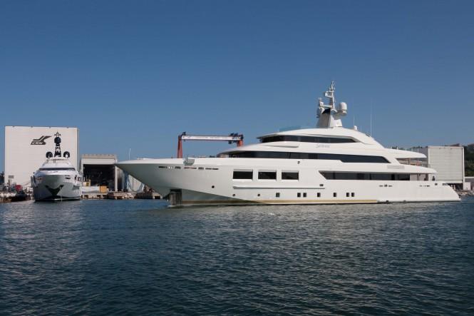 61m CRN Luxury Yacht Saramour