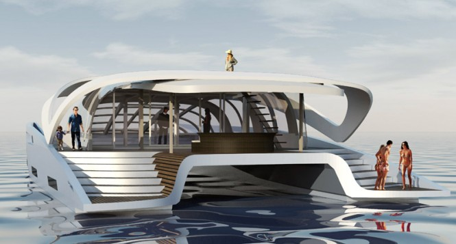 AIR 99 Yacht - aft view