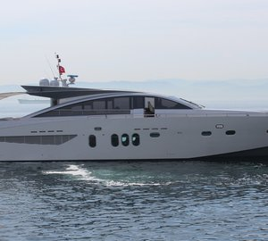 Couach 2800 Open motor yacht SHENU refitted by KRM Yacht