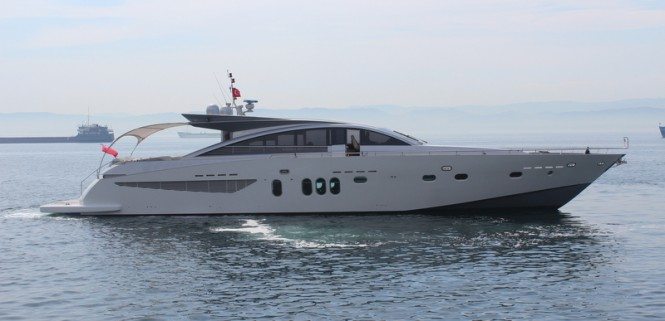 Couach 2800 Open superyacht Shenu refitted by KRM Yacht