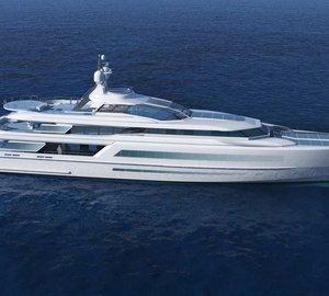 Francesco Struglia-designed 65m motor yacht ICE project nominated for IY&A Award 2015
