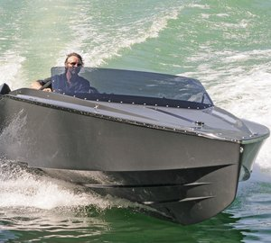 New 747 Mirage yacht tender launched by Frauscher Shipyard