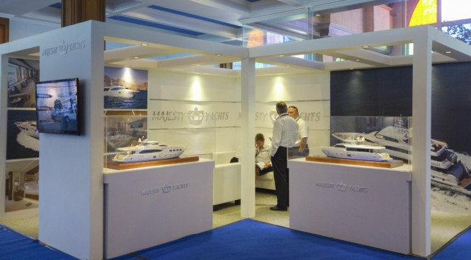 Gulf Craft Stand at the Indonesia Yacht Show 2014