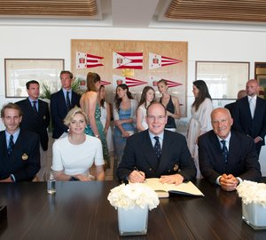 Official opening of new Yacht Club de Monaco premises