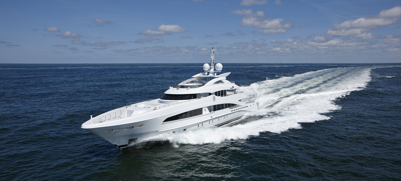 Heesen super yacht MONACO WOLF (YN16650) - Photo by Dick Holthuis