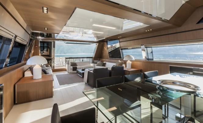 Mythos superyacht - Interior - Photo by Alberto Cocchi