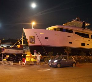 Cantiere delle Marche announces launch of 86' motor yacht YOLO and new CdM Nauta Air Line