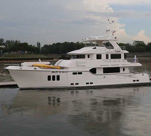 Additional video and photos of Nordhavn 86 luxury yacht KOONOONA
