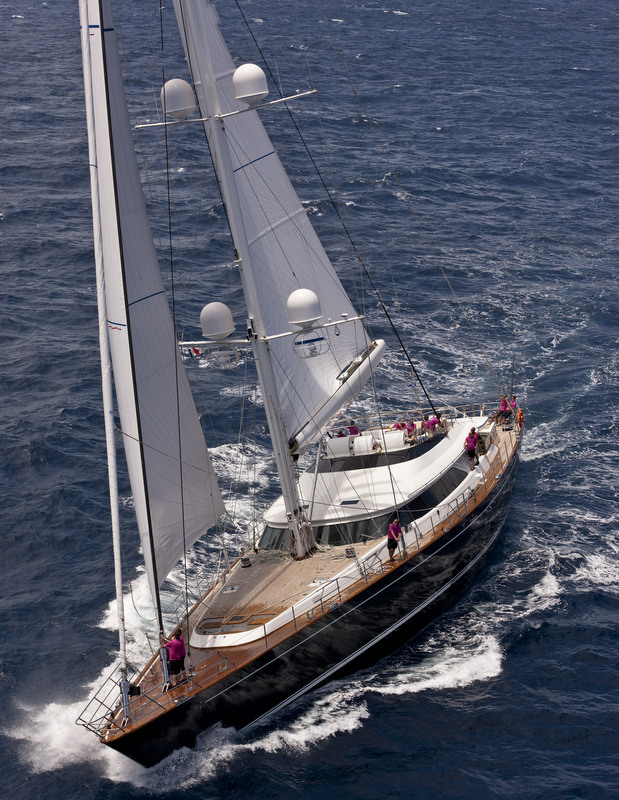 Perini Navi superyacht Clan VIII to participate in the 2014 Superyacht Cup Palma