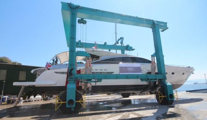 Relaunch of motor yacht Shenu