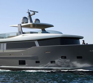 Launch of first Nauta Air 86' motor yacht YOLO at Cantiere delle Marche