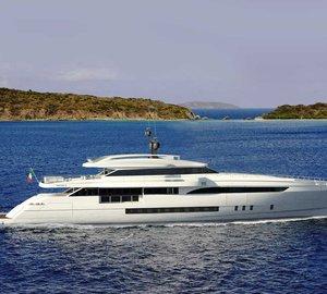 Motor yacht WIDER 150' taking shape in new WIDER shipyard in Ancona