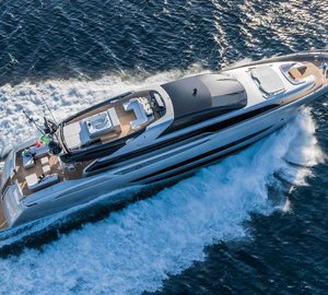 New 122' Mythos Motor Yacht SOL - Riva's First Aluminium and Largest Yacht