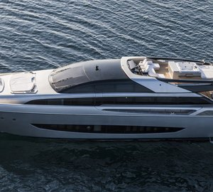 Exclusive presentation of Riva 122' MYTHOS motor yacht SOL