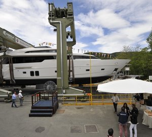 Sanlorenzo announces four superyacht launches in a row