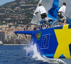 Fourth Line Honours victory for sailing yacht Esimit Europa 2 at Giraglia Rolex Cup