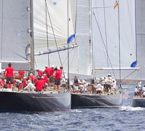 Superyacht Cup Palma 2014: King's 100 Guinea Cup for HANUMAN and LIONHEART Yachts