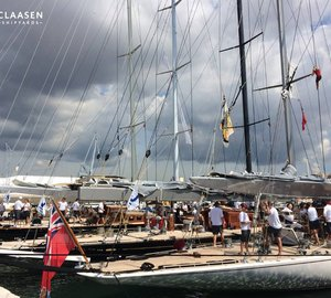 Amazing start to The Superyacht Cup Palma 2014