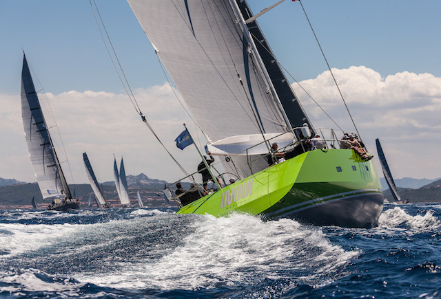 The owner of Inoui was pleased with their performance and didn't want to stop racing! Jeff Brown | Superyacht Media