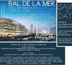 2014 Bal de la Mer Save The Date