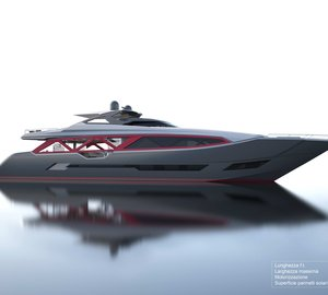 A-Sign Studio among IY&A Awards 2015 Finalists with 35m Planing Fiberglass Yacht Concept