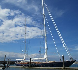 Dun Laoghaire Marina in Ireland welcomes two luxury superyachts