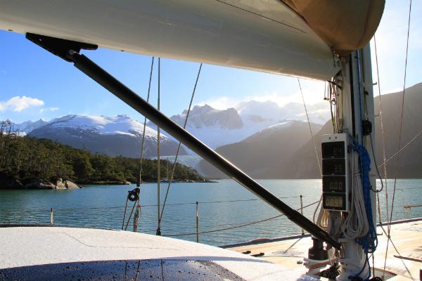 Aboard Louise Yacht
