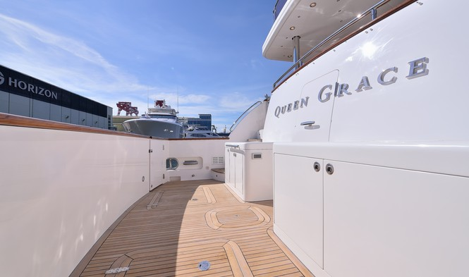 Aboard Queen Grace Yacht
