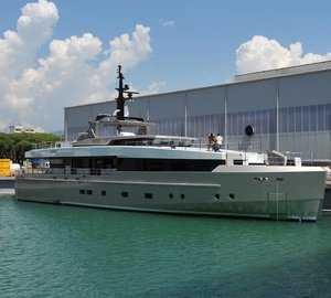 Launch of Admiral Impero 37 motor yacht NONO