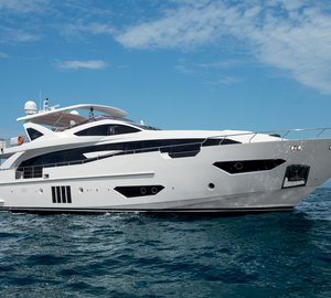 New images of recently launched Azimut Grande 95RPH Yacht