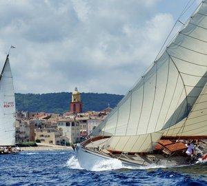 Sailing yacht Amadour becomes overall winner of 2014 Trophée Bailli de Suffren