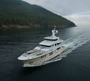 Nordhavn 120#1 motor yacht Aurora nominated for 2014 ISS Design Award