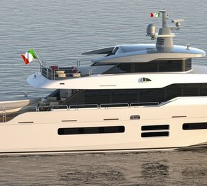 World premiere for hull #1 of Oceanic Yachts 90' STS motor yacht DOLCE VITA  at Cannes Yachting Festival 2014