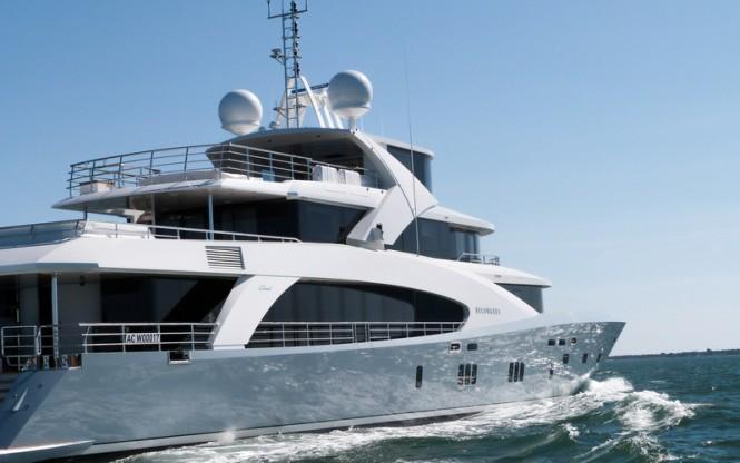 Luxury motor yacht Belongers