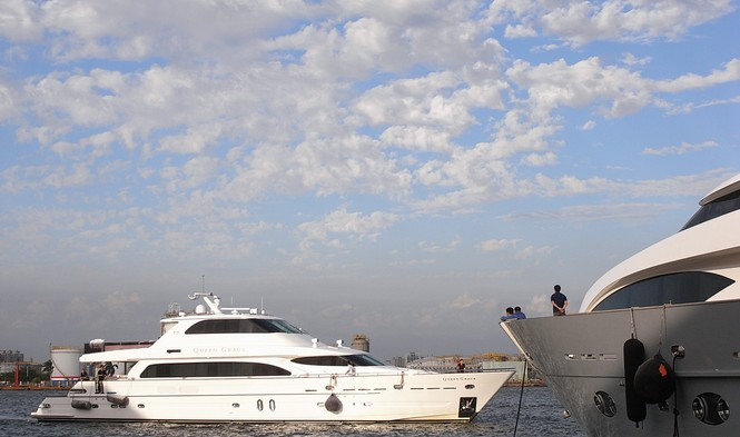 Luxury motor yacht Queen Grace