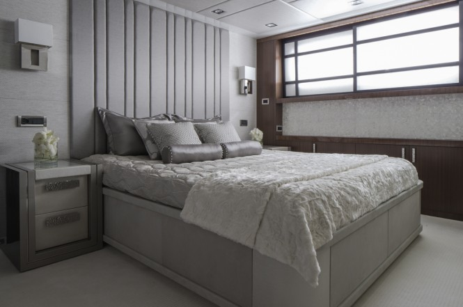 Luxury superyacht TURQUOISE - Double guest cabin
