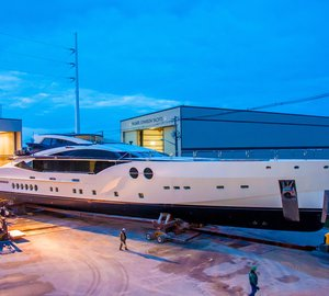 Delivery of second PJ170 motor yacht BLISS by Palmer Johnson