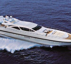 Sale of Mangusta 130 motor yacht MISUNDERSTOOD announced by Overmarine Group