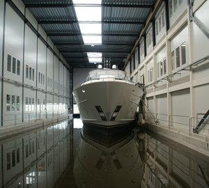 Mulder Shipyard launches first Mulder 98 Flybridge motor yacht YN 1391