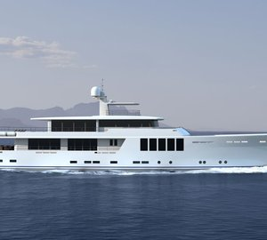 Latest 164' New Generation Explorer Yacht Project introduced by JFA Yachts