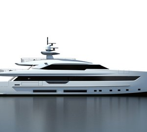 New 50m motor yacht S501 project by Tankoa Yachts