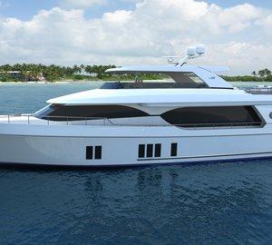 Ocean Alexander announces premiere of new motor yacht Ocean Alexander 100 at FLIBS 2014