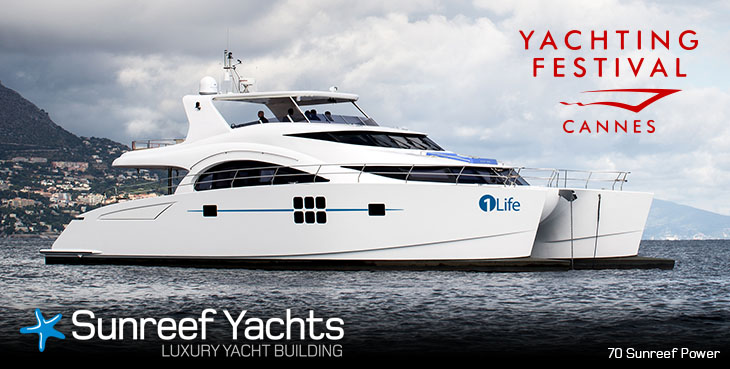 Newly launched 70 Sunreef Power Yacht 1 Life