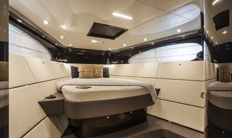 OTAM 58 HT 'CRAZY TOO' superyacht chase boat - Cabin