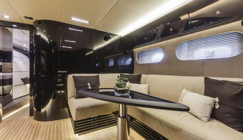 OTAM 58 HT 'CRAZY TOO' superyacht chase boat - Interior